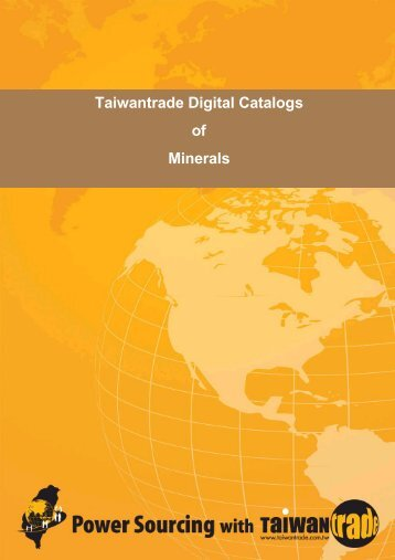 Taiwantrade Digital Catalogs of Minerals