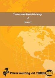 Taiwantrade Digital Catalogs of Hosiery
