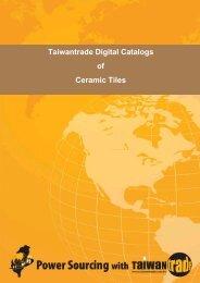 Taiwantrade Digital Catalogs of Ceramic Tiles