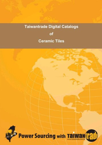 Taiwantrade Digital Catalogs of Ceramic Tiles