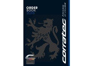 CORRATEC Order Book D/A/CH 2O15