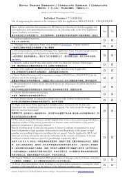 Individual Tourism /个人旅游签证List of supporting documents to be ...
