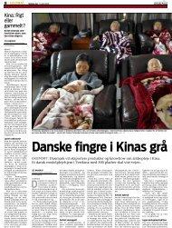 Danske fingre i Kinas grå