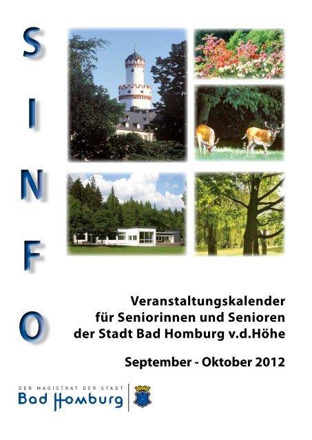 Sinfo September / Oktober - Bad-Homburg