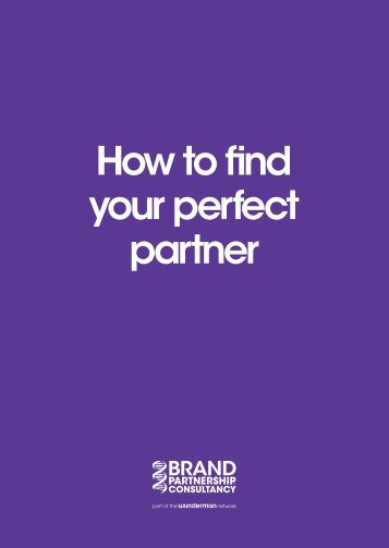 How to find your perfect partner