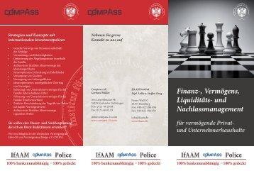 IfAAM Compass Flyer - Institut für Austrian Asset Management