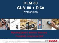Launch package GLM 80 & R 60 Professional PT-MT ... - Wrzuta.pl