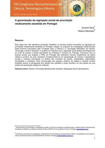 A generização da regulação social da procriação ... - UTFPR