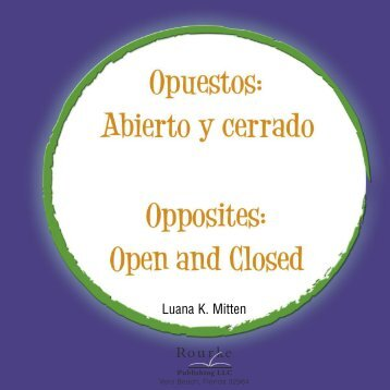 Opposites: Open and Closed (Bilingual)
