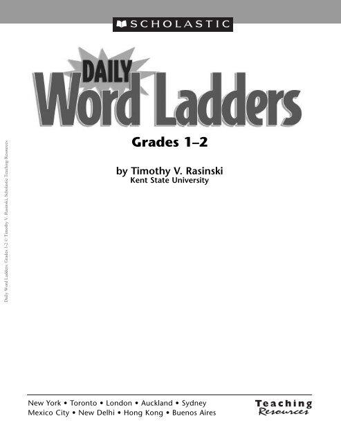 Grades 1–2 by Timothy V. Rasinski