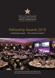 Fellowship Awards 2010 - Fellowship for British Hairdressing