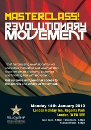 view the flyer - Fellowship for British Hairdressing