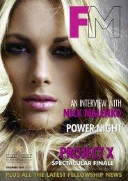 POWER NIGHT NICK MALENKO - Fellowship for British Hairdressing