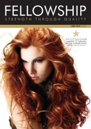 STRENGTH THROUGH QUALITY - Fellowship for British Hairdressing