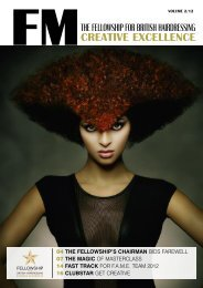 CREATIVE EXCELLENCE - Fellowship for British Hairdressing