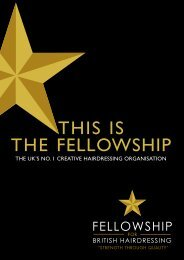 THIs Is THE FEllOwsHIp - Fellowship for British Hairdressing