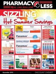 Hot Summer Savings - Pharmacy 4 Less