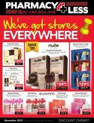 We've got stores - Pharmacy 4 Less