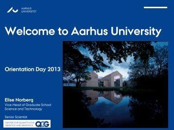 safe - International Academic Staff - Aarhus Universitet