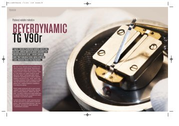 Recenze mikrofonu TG V90R časopisu MusicStore - Audiopro sro