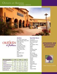 Leasing Brochure - Craig Realty Group