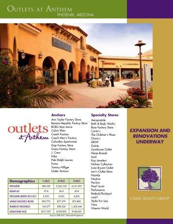 Leasing Brochure - Craig Realty Group