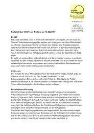 Protokoll des VHS-Team-Treffens am 16.02.2009 B10/27 Frau Kolb ...