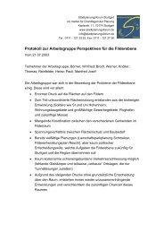 Perspektiven für die Filderebene - Stadtplanungsforum Stuttgart