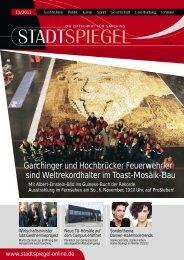 Garchinger und Hochbrücker Feuerwehrler sind ... - Der Stadtspiegel