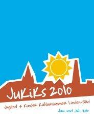 Programm JuKiKs 2010 - Stadtteilforum Linden-Süd