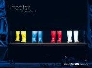 Das Theater Magazin 2012 - Stadttheater Minden