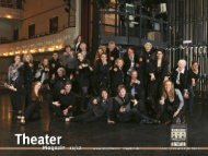 Das Theater Magazin 2011 - Stadttheater Minden