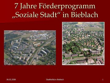 Download Präsentation - Bundestransferstelle Stadtumbau Ost