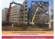 Flächenhafter Rückbau des Geschosswohnungsbaus in der ...