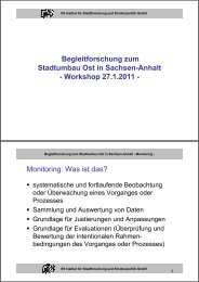Einführung in die Thematik: Ziele und Ablauf des Workshops