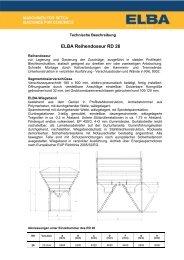ELBA Reihendoseur RD 26