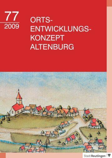 ORTS- ENTWICKLUNGS- KONZEPT ALTENBURG