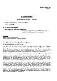 SV-Änderungsbeschl Hähren III GR 19062012, Vorlage Nr. 19