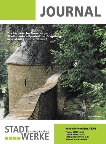 Die historische Annaberger Stadtmauer – Symbol der Erzgebirgs ...