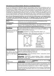 """Informationen zum Erfassungsblatt """"Überbaute und befestigte ..."""