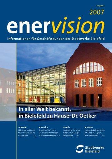 Ausgabe 4 Ener Vision - Stadtwerke Bielefeld