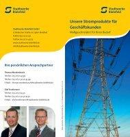 Unsere Stromprodukte für Geschäftskunden - Stadtwerke Bielefeld