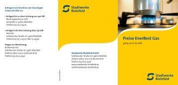 SWB-0415.1 Tarifblättchen Gas 02_09.indd - Stadtwerke Bielefeld