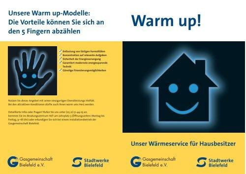 Warm up! - Stadtwerke Bielefeld