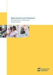 Woher kommt unser Trinkwasser? - Stadtwerke Bielefeld