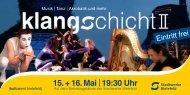 15. + 16. Mai  19:30 Uhr - Stadtwerke Bielefeld