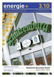 energie + 3 10 - Stadtwerke Burscheid GmbH
