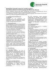 Haus-/Netzanschlüsse an die Versorgungsnetze (Strom, Gas, Wasser)