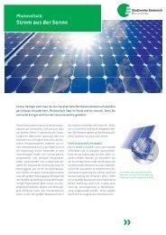 Kundeninformation: Photovoltaik - Stadtwerke Emmerich