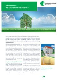 Kundeninformation: Wärmepumpen - Stadtwerke Emmerich